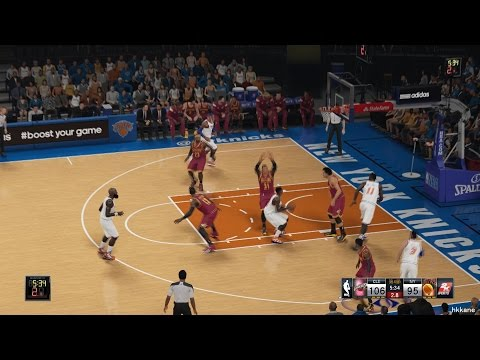 NBA 2K15 Cleveland Cavaliers Vs New York Knicks 04-12-2014