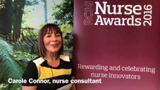 "Carole Connor and her oncology team are ""so excited"" to be finalists in the RCNi nurse awards"