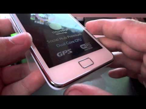 Unboxing Samsung Galaxy SII Ceramic White