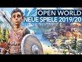 20 kommende Open-World-Games für PC, PS4 & Xbox One