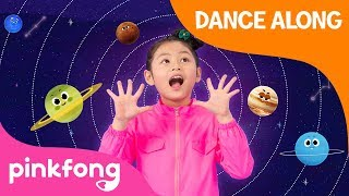 Eight Planets | Dance Along | Space Song | Pinkfong Songs for Children