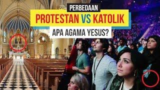 Perbedaan Kristen Protestan vs Kristen Katolik. Apa sih agama Yesus?
