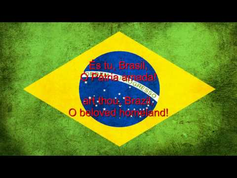 Portuguese lyrics & English Translation. The Brazilian national anthem (Portuguese: Hino Nacional Brasileiro) was composed by Francisco Manuel da Silva in 1822 and had been given at least...