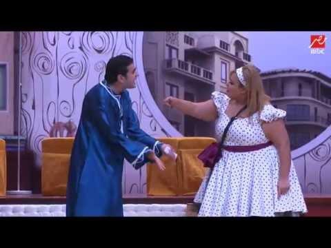 #مسرح مصر  لما مراتك تستجوبك    انا اتخن ولى ميريام فارس     هتجاوب بإية ؟