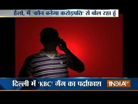 Be safe from Pakistan linked 'KBC' gang