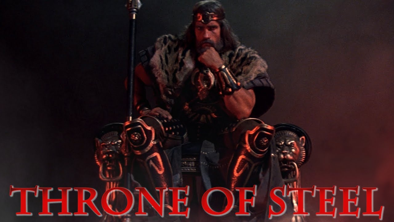 A Throne Of Stee  Conan The Destroyer Throne