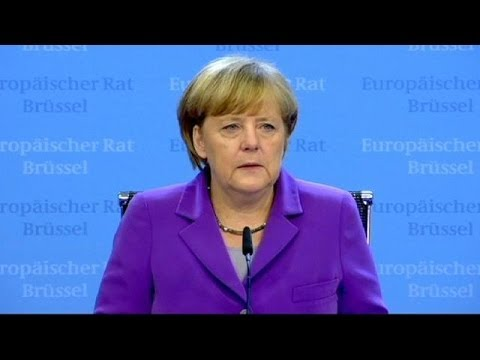 Merkel's mobile dominates EU summit chatter