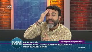 Günaydın Doktor TV8 04 09 2018 Nihat Dik/ Ameliyatsız Yüz Germe