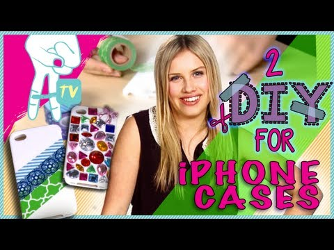 How to Decorate Your iPhone Case and Make it Preppy - 2 DIY For Ep. 13