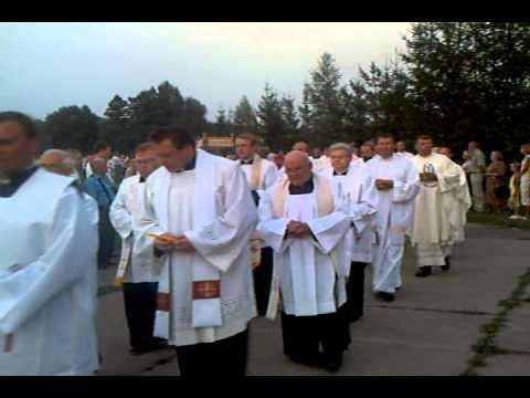 Евхаристическая процессия в Аглоне