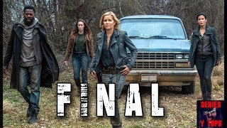 FEAR The Walking Dead 4x08 FINAL DE MITAD DE TEMPORADA 4 | ANÁLISIS y RESUMEN