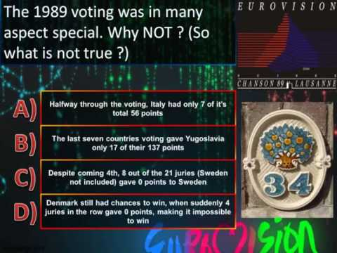 Eurovision Trivia Quiz *Question 34: 1989* klip izle