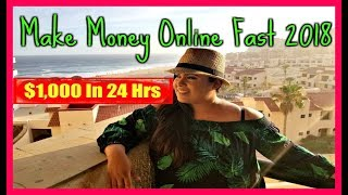 (2018) How To Make Money Working From Home - How To Work From Home & Make Money Online Fast
