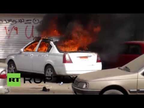 Egypt: Cairo clashes erupt on cancelled Jan 25 uprising celebrations