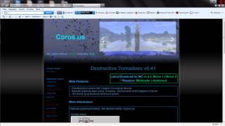 [GER] Minecraft[1.2.3] Tornado Mod/coole Tornados/installation+ Download