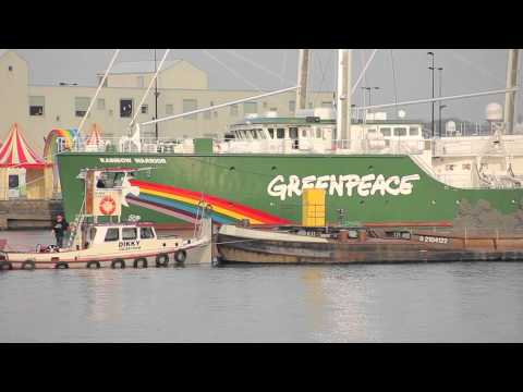 Snippets from the Rainbow Warrior: Ham Radio on the Rainbow Warrior