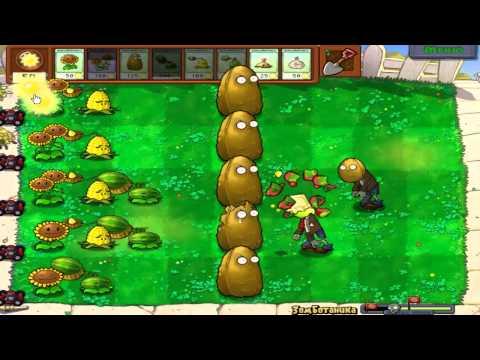 Прохождение Plants Vs Zombies от Диза - 13 часть