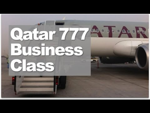 Qatar Airways 777 Business Class | Doha ✈ London Business Class Reviewed
