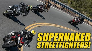 Supernaked Shootout! Tuono vs. S1000R vs. Super Duke R vs. FZ-10