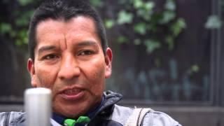 Què és la pau per Gersain Cuetia?