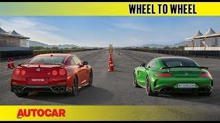 Drag Race: Nissan GT-R vs Mercedes-AMG GT R | Autocar India