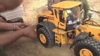 RC Trucks, RC Camiones, RC Fahrzeuge, rc excavator, maquinas rc