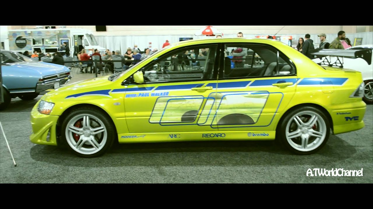 Fast And Furious Mitsubishi Lancer Evo Paul Walker Brian