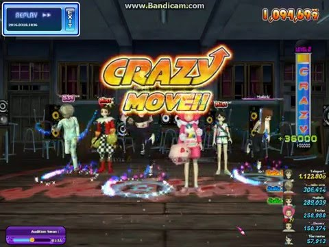Audition Crazy 8  ( Swan Lake x38 )