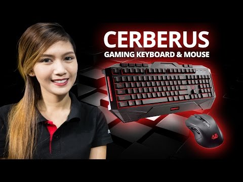 ASUS Cerberus Keyboard and Mouse - Review / Comparison / Hands On