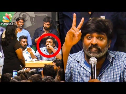 MEME போட்டு தாளிச்சு எடுக்குறீங்க : Vijay Sethupathi Funny Speech | 96 Tamil Movie