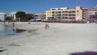 Beach at Puerto Alcudia