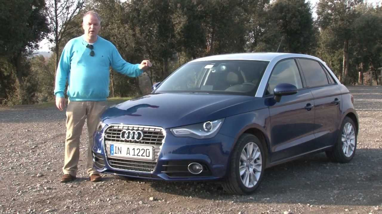 review audi a1 sportback consumentenbond youtube