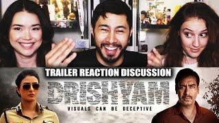 DRISHYAM | Ajay Devgn | Trailer Reaction | Jaby, Hope & Achara!
