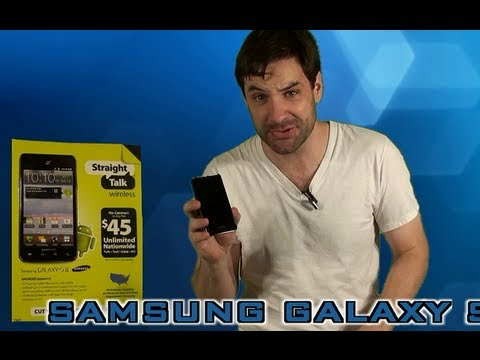 Straight Talk Samsung Galaxy S2 Review