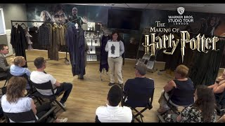 Behind The Seams at Warner Bros. Studio Tour London