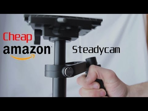 Cheap low budget Amazon Steadycam (Tarion) (Neewer) (IMORDEN)  (Sutefoto) Review