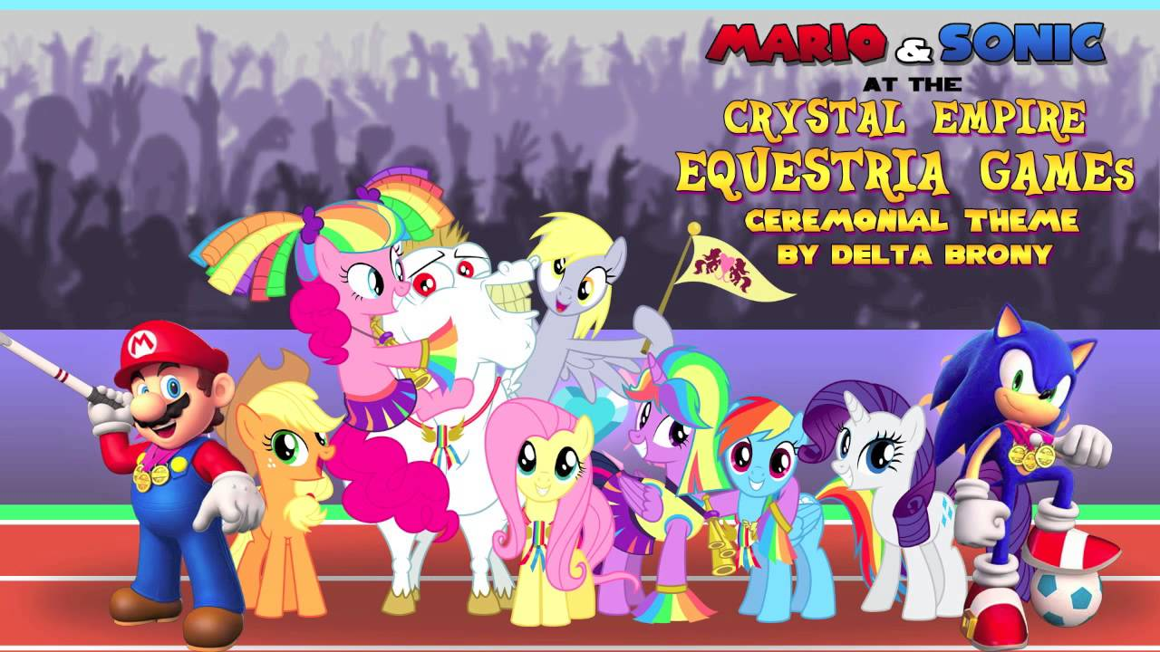 Mario And Sonic At The Crystal Empire Equestria Games