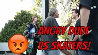 SKATERS vs. HATERS #29! | Skateboarding Compilation 2017 | Skaters vs Angry People