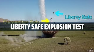 Blowing Up Gun Safes - Who Wins the Tough Safe Explosives Challenge?