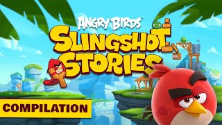 Angry Birds Slingshot Stories | Compilation - S1 Ep 6-10