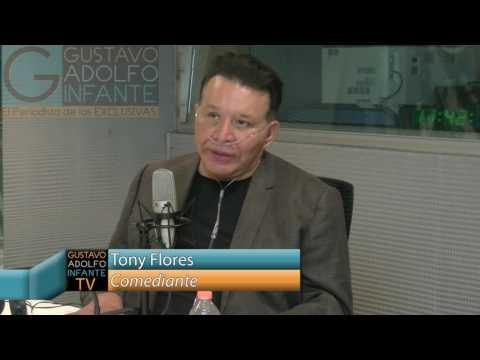 El comediante Tony Flores en exclusiva nos habla  su enfermedad, tienes que escucharlo!!!