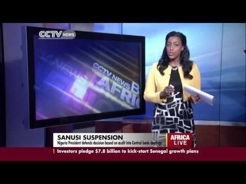 Nigerian President Defends Decision to Suspend Sanusi