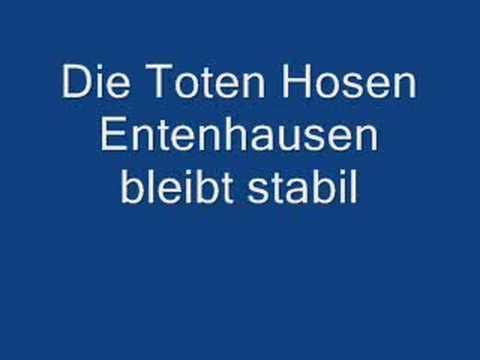 Die Toten Hosen - Entenhausen Bleibt Stabil
