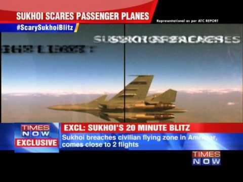 IAF Sukhoi scares passenger planes