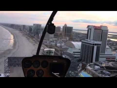 Atlantic City helicopter ride