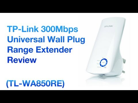 TP-Link Universal Wireless N Range Extender 300Mbps TL-WA850RE [Review]