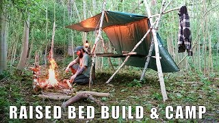 Bushcraft Raised Bed - Build & Camp