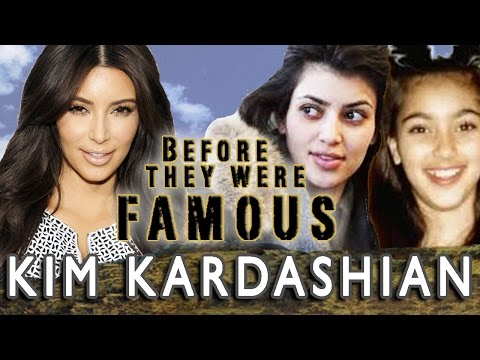 KIM KARDASHIAN - Before They Were Famous - UPDATED