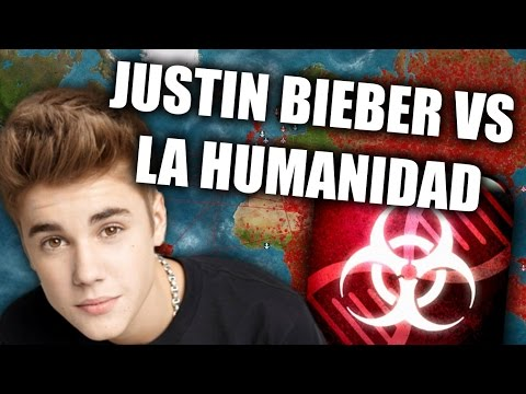 JUGANDO Plague Inc: Evolved - JUSTIN BIEBER AMENAZA EL MUNDO (Juanpa)