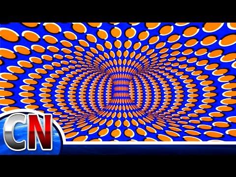 Ilusão de Ótica - Tente não PIRAR com este video